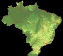 Relevo geográfico do Brasil