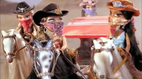 Bratz Wild Wild West Stagecoach Commercial! HD (2005)