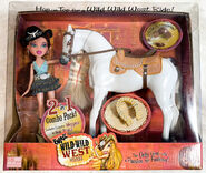 Bratz Wild Wild West Horse with Meygan