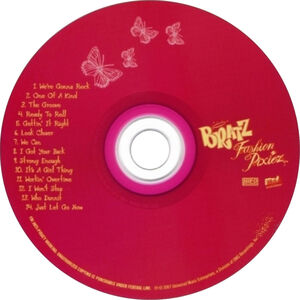 Bratz Fashion Pixiez album CD