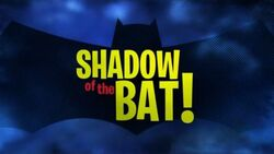 Shadow of the Bat!