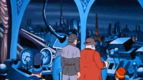 BraveStarr Ep 54) Sherlock Holmes In The 23rd Century (Part 02)