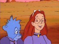 Judy smiles