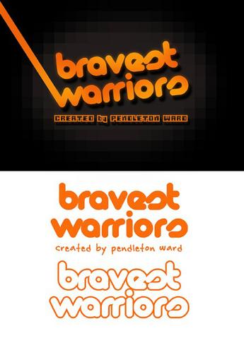 Archivo:Bravest Warriors second logos.png