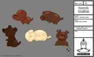 BW103 model Chocolate Puppies