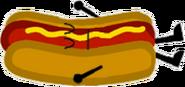 Sleeping Hot Dog