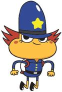 Breadwinners Rambamboo Nickelodeon Character
