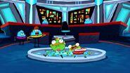 Sliced Ducks Inside The UFO