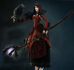 Morgan red skin