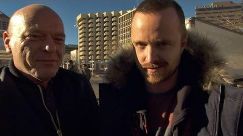 On the Set of the Final 8 Episodes Breaking Bad