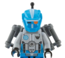 Robot Sidekick (Blauw team)