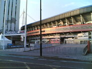 Millennium Stadium-Early morning