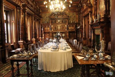 Dining room peles castle