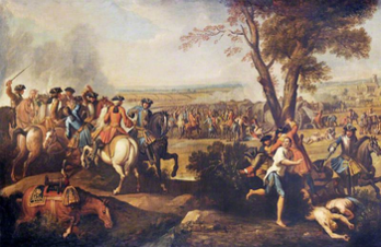 350px-Pursuit of the French after the Battle of Ramillies