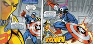 Assassin-8 vs Captain America