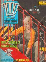 2000 AD prog 566 cover