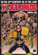 Dredd annual 1983 cover