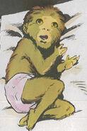 Meggan Puceanu as Baby (Earth-616) 01