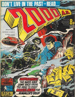 2000 AD prog 6 cover