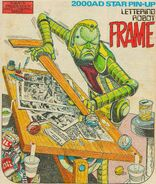 Lettering robot Frame