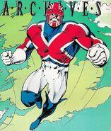 Captain Britain by Alan Davis