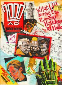 2000 AD prog 592 cover