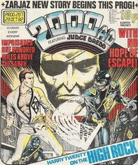 2000 AD prog 287 cover