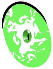 Inner Flame in Spike's eyes