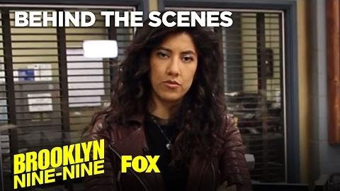 Rosa's Precinct Tour Season 4 BROOKLYN NINE-NINE