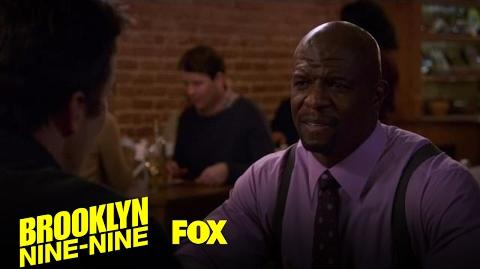 Terry Has Dinner With The Officer That Racially Profiled Him Season 4 Ep. 16 BROOKLYN NINE-NINE
