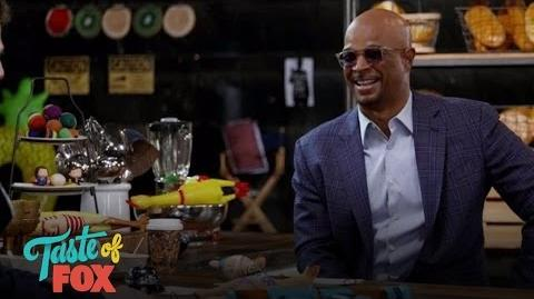 Andy & Damon Damon Wayans Loves HELL'S KITCHEN TASTE OF FOX