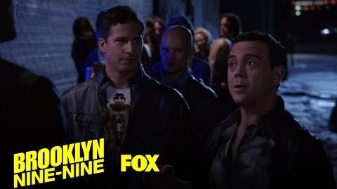 Boyle Uses Humor To Get Into A Club Season 4 Ep