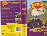 Kitten Rescue Vhs Cover and Rear