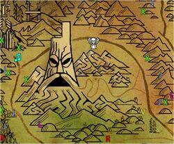 Thunderhorn Map