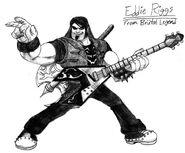 Fan Art Eddie Riggs From Brutal Legend