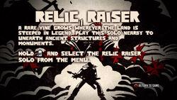 Relic Raiser Tutorial