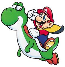 Mario and Yoshi SMW