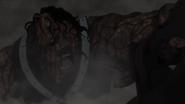 Masashi's searing skin