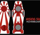 Rising Sun hoverboard