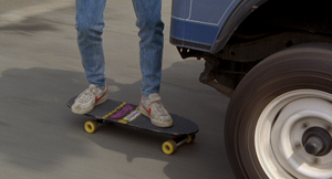 Marty's skateboard