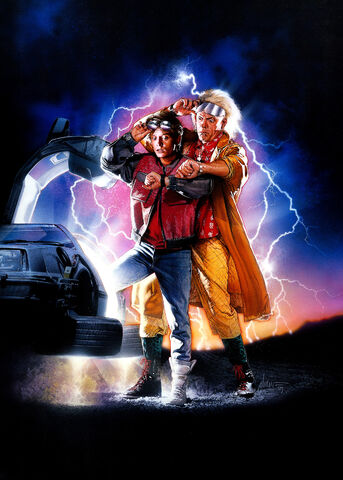 File:Back to the Future Part II Textless Poster.jpg