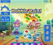 BubbleRainBackground