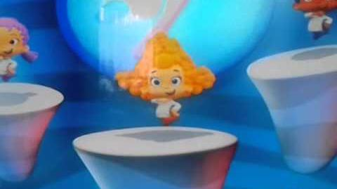 Bubble Guppies UK Brush and Brush