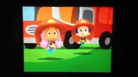 Bubble guppies tunes 51 the firetruck song(Hebrew)