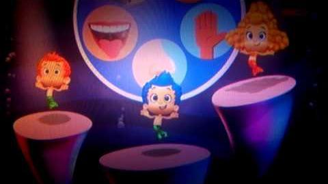 Bubble guppies senses dance italiano