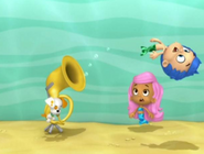 Bubble puppyt gets blowns