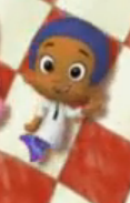 Goby holding his ear