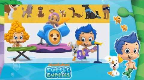 ♪Bubble Guppies~ A Puppy Is A Guppie's Best Friend♪ GREEK