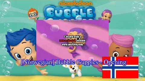 Norwegian Bubble Guppies - Opening