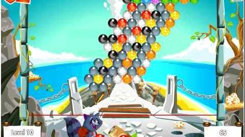 Facebook - Bubble Island - Stage 9 Level 10 - Walkthrough